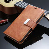 Brown Retro Wallet Flip Leather iPhone Cover